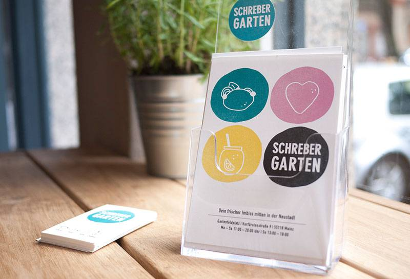 Corporate Design Schrebergarten Mainz